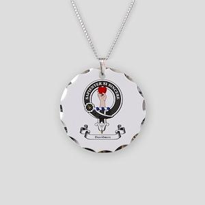 Badge-Davidson [Inverness] Necklace Circle Charm